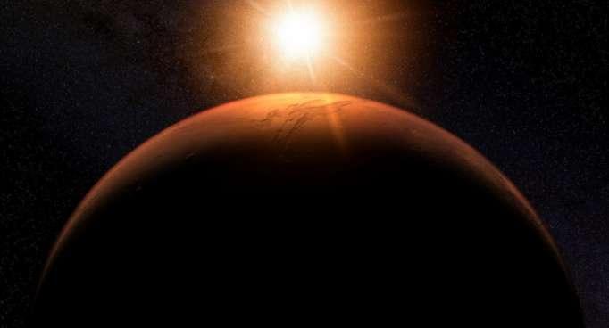 Riesiger Lebensraum auf Mars entdeckt