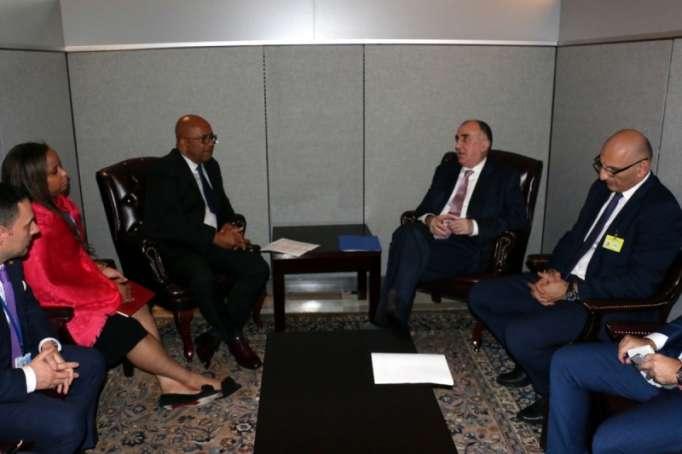 FM Mammadyarov holds several bilateral meetings in New York