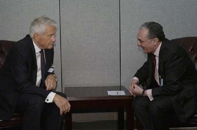 Armenian FM discusses Nagorno-Karabakh conflict settlement with CoE