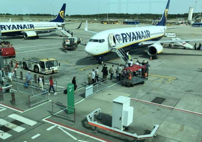 Ryanair strike grounds hundreds of flights across Europe