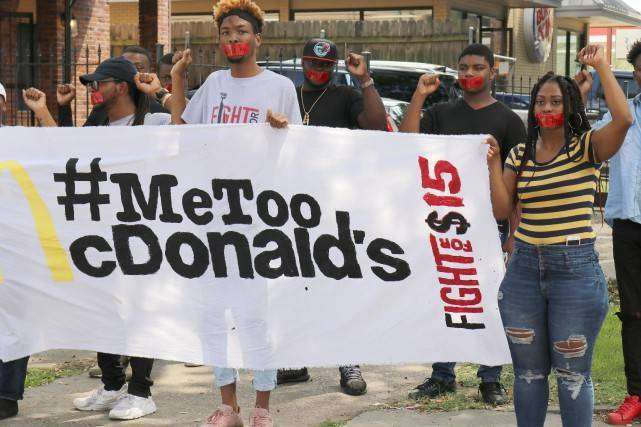 États-Unis : des employés de McDonald