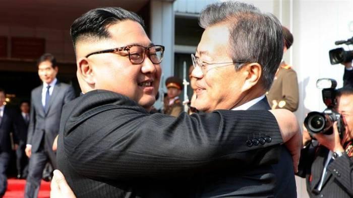 Cənubi Koreya prezidenti Pxenyandadır -