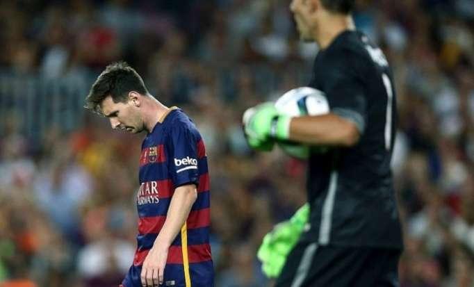 """""""Barselona"""" ikinci dəfə xal itirdi"""