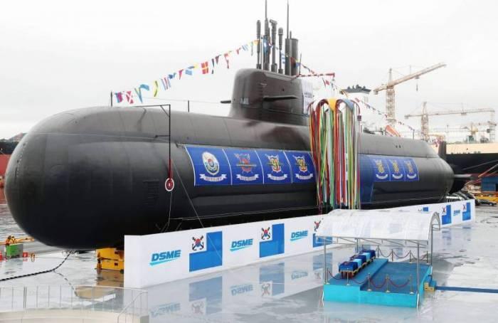 La Corée du Sud lance son premier sous-marin porteur de missiles