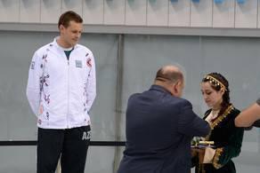 في قطر فاز السباح الأذربيجاني بكأس العالم