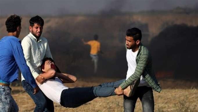 استشهاد فتى فلسطيني برصاص الاحتلال جنوب غزة