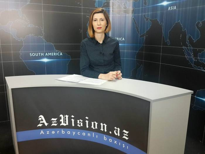 AzVision TV releases new edition of news in English for September 14 -VIDEO