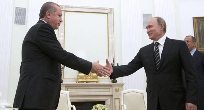Ərdoğan Putinlə görüşə gedir