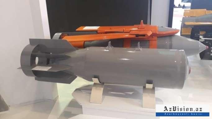 Azerbaijan starts production of new aerial bomb - PHOTOS