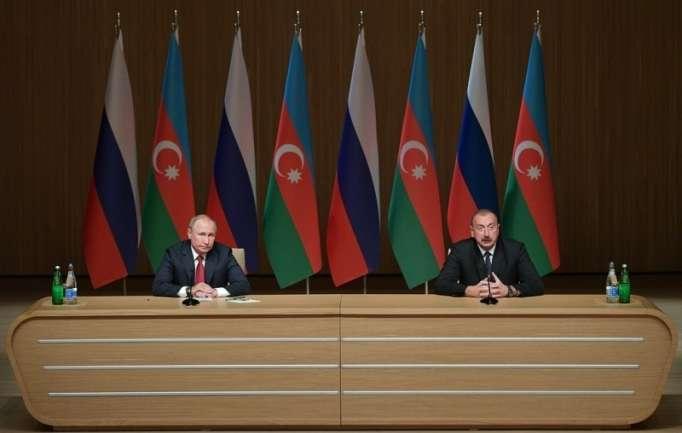 Poutine remercie Ilham Aliyev: «C