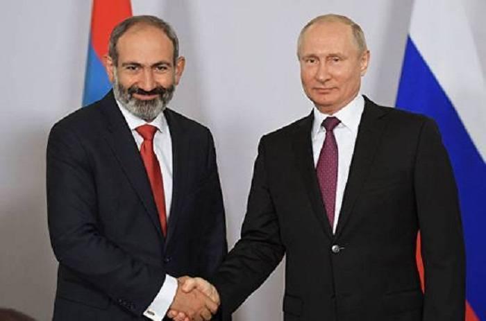 Putin Paşinyana son şans verəcək
