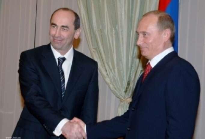 """Koçaryan: """"Putin məni dəstəkləyir"""""""