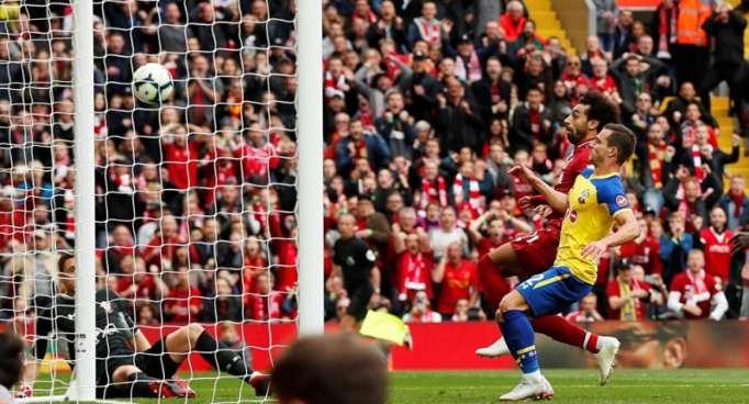 بالفيديو... أهداف مباراة ليفربول وساوثهامبتون في الدوري الإنجليزي (3-0)