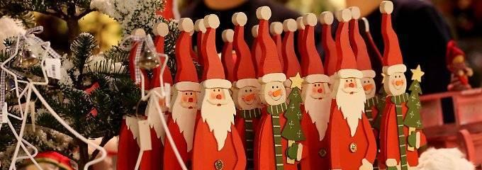 Weihnachts-Fans können Einkauf starten