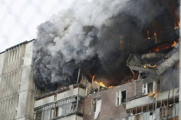 Explosion occur in residential building of Armenia