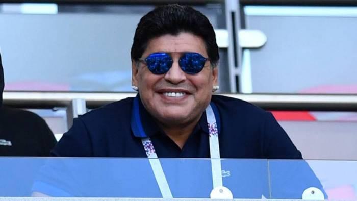 Maradona se convierte en el nuevo director técnico de los Dorados de Sinaloa