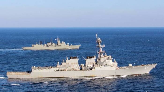 US destroyer arrives in Mediterranean as Syria tensions rise