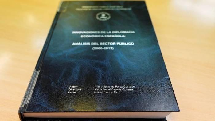 La tesis doctoral del presidente del Gobierno español supera control antiplagio de dos
