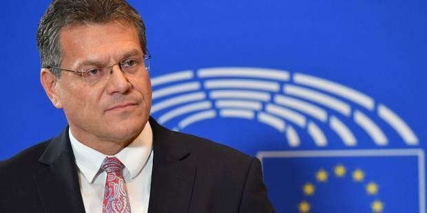 UE: Maros Sefcovic en lice pour succéder à Juncker