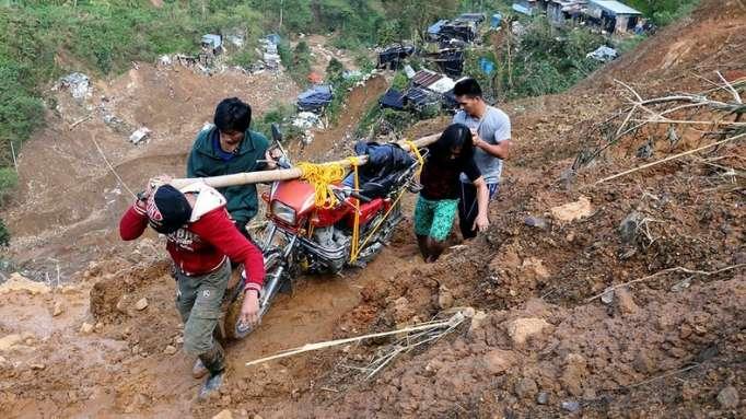 """Über hundert Menschen sterben auf Philippinen durch Taifun """"Mangkhut"""""""