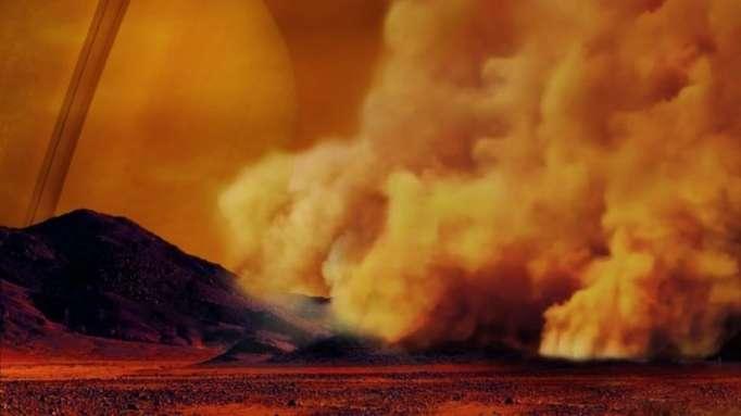 La mayor luna de Saturno experimenta tormentas de polvo como las de la Tierra