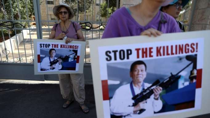 'My only sin is the extrajudicial killings', says Duterte