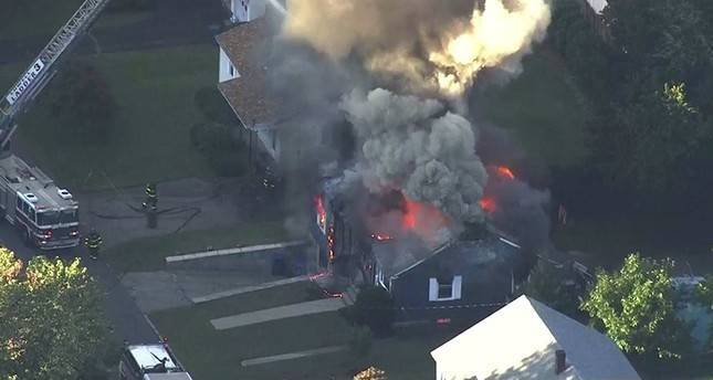 Dozens of Boston homes set afire by gas explosions