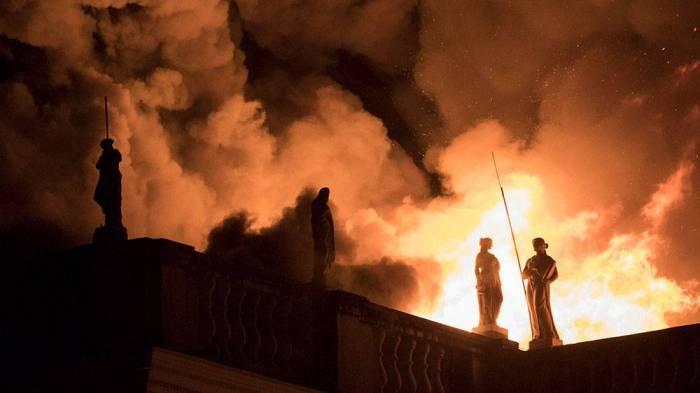 Milli muzey yandı, 20 milyon eksponat məhv oldu