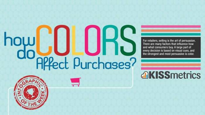 Are we making enough use of colour in B2B marketing? - INFOGRAPHICS