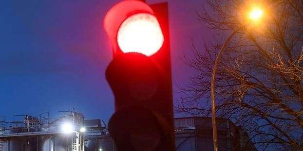 En Bretagne, un feu tricolore récompense les bons conducteurs