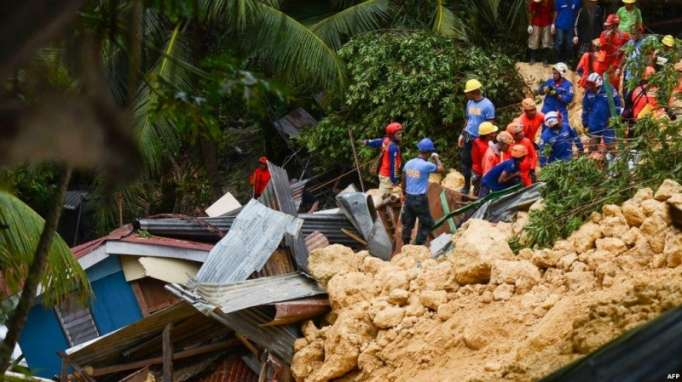 Death toll in two major Philippine landslides climbs to 95, 59 still missing