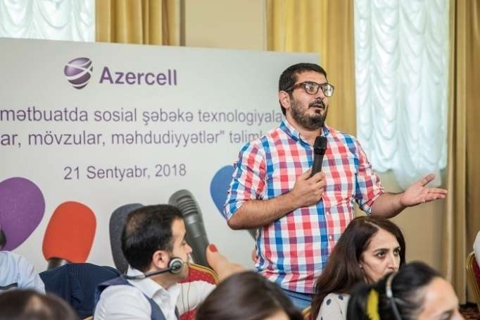 Azercell jurnalistlər üçün seminar keçirib