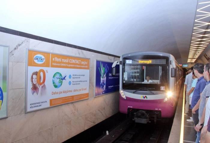 Metroda qatarların intervalı 2 dəqiqəyə endirilir