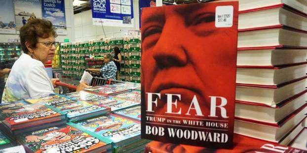 Livre de Woodward sur Trump : 1,1 million d