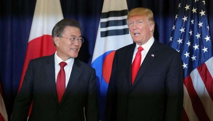 Cənubi Koreya prezidenti Trampla görüşəcək