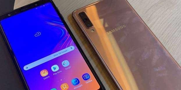 Samsung dévoile le Galaxy A7, son nouveau smartphone milieu de gamme
