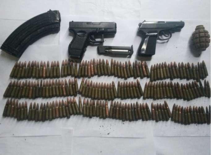 Nardaranda silah-sursat tapılıb