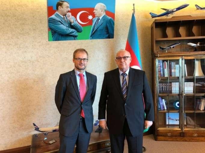 AZAL President met with Switzerland's Ambassador to Azerbaijan