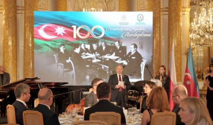 Warsaw hosts event marking centenary of Azerbaijan Democratic Republic