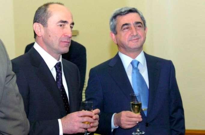 Sarkisyan Koçaryanla birləşir