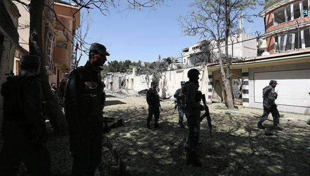 Blast close to procession in Afghan capital Kabul: police