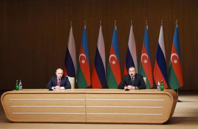 President Aliyev and Putin attend opening ceremony of the 9th Azerbaijan-Russia interregional forum