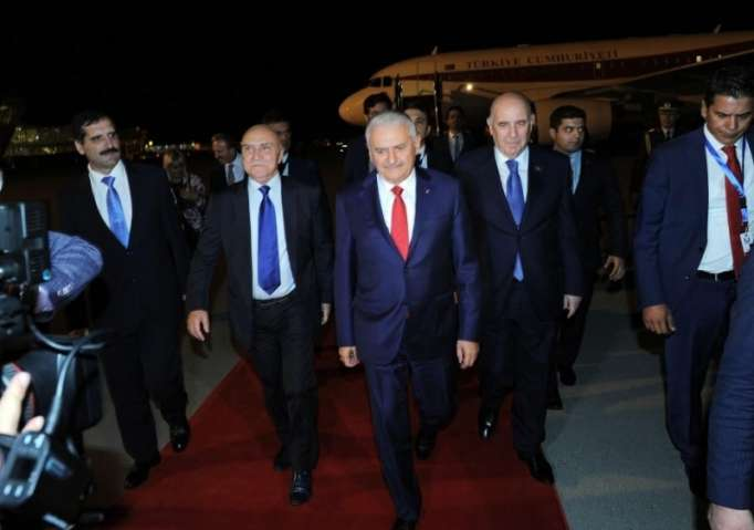 Speaker of Grand National Assembly of Turkey arrives in Azerbaijan