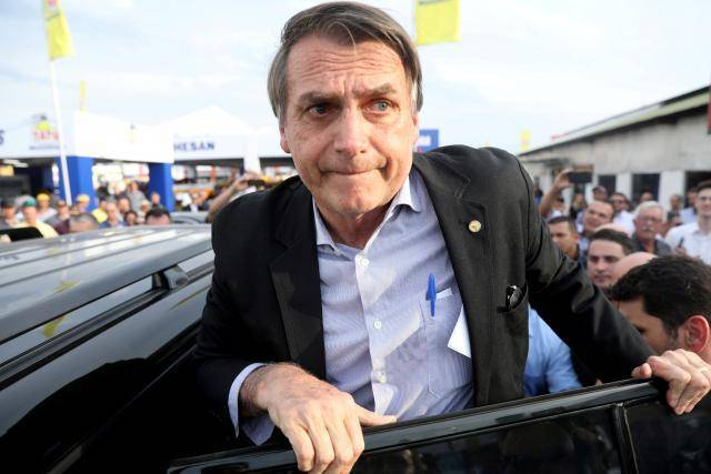 Brazil far-right candidate Bolsonaro in serious condition after stabbing