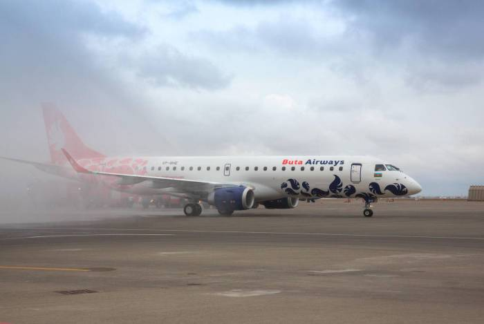 Buta Airways replenishes its fleet with new Embraer E-190