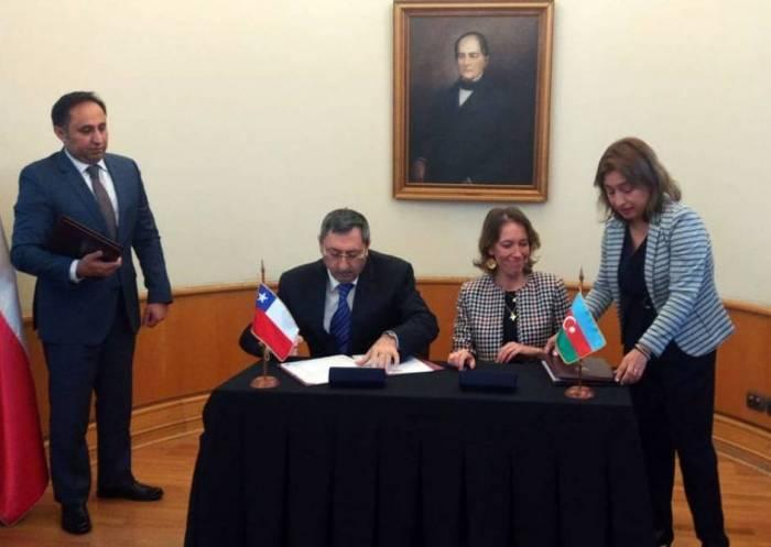 Azerbaijan, Chile sign agreement to abolish visa requirements