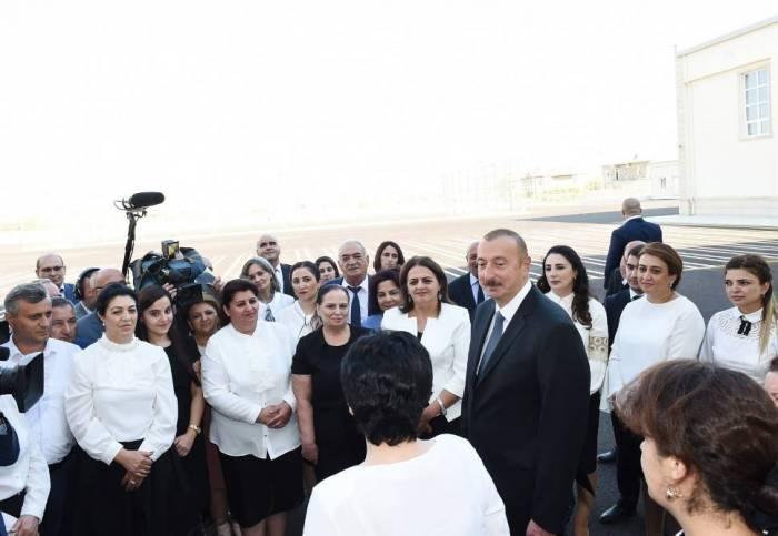"""""""Biz müstəqil siyasət aparırıq, heç kimdən asılı deyilik"""" - Prezident"""