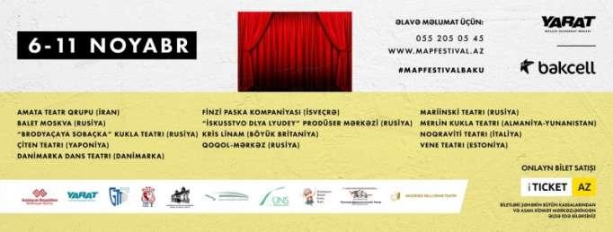 Bakıda M.A.P. Beynəlxalq Teatr Festivalı keçiriləcək