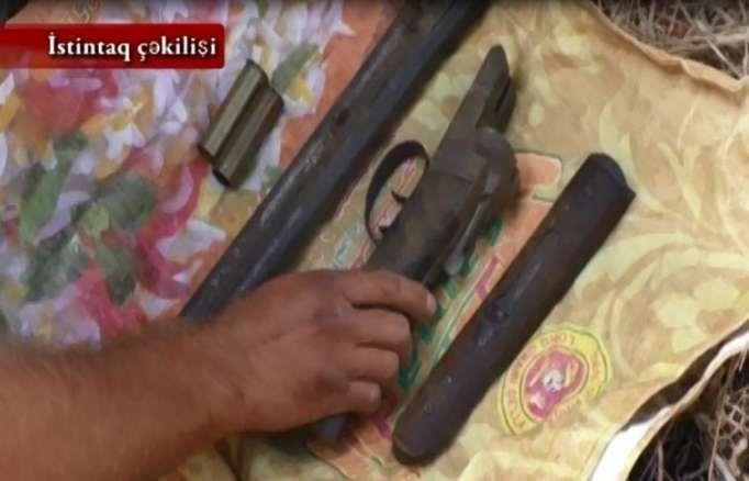 Nardaran sakinlərindən silah-sursat götürülüb