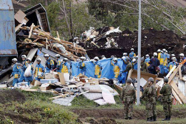 Death toll from Japan quake hits 44, power supply, Toyota output disrupted